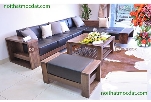 Sofa Gỗ Phong Khach Ms 06