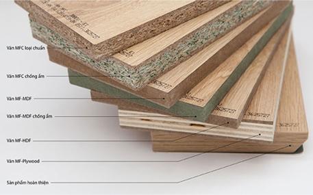 Báo giá thi công nội thất gỗ MFC an cường